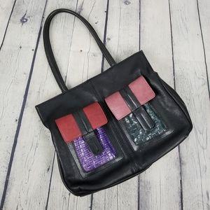 ESPE   multicoloured cargo pocket shoulder bag